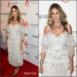 Sarah Jessica Parker wears Needle & Thread  at the 2016 ACE Awards