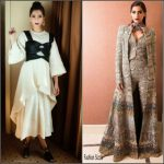Sonam Kapoor in Sandra Mansour & Anamika Khanna at the Melbourne Indian Film Festival