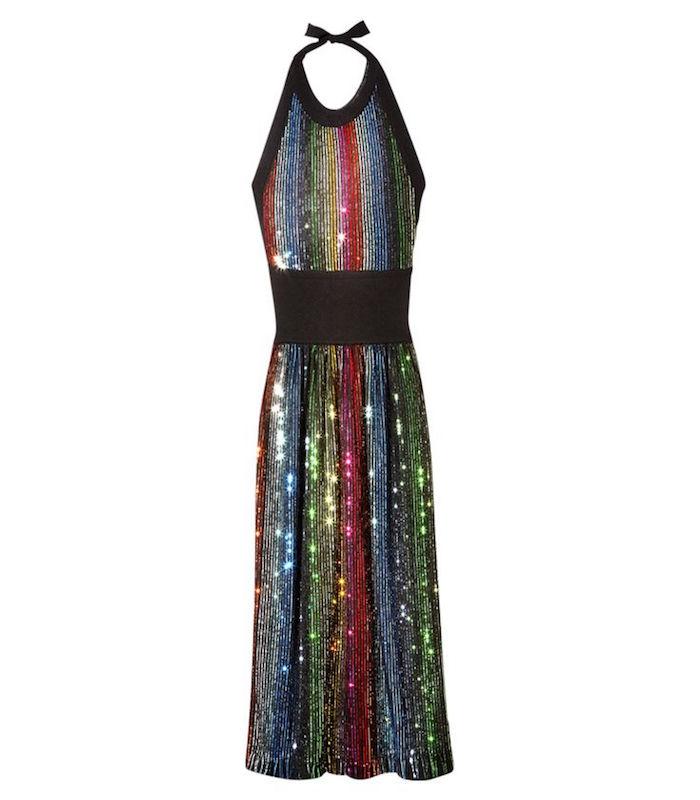sonia-rykiel-rainbow-sequing-knit-dress