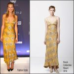 Toni Garrn in Brock Collection at the Fashion2Night Event