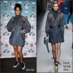 Tracee Ellis Ross  In Fendi At The  2016 Teen Choice Awards