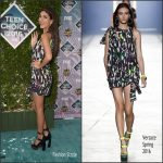 Victoria Justice In Versace At The   2016 Teen Choice Awards