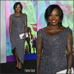 Viola Davis in Vivienne Westwood at the Suicide Squad New York Premiere