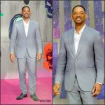 Will Smith   In  Brioni At The Suicide Squad European Premiere