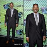 Will Smith In Tom Ford  at The Suicide Squad New York Premiere