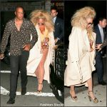 Beyonce celebrated her 35th  Birthday with a Soul Train themed Party