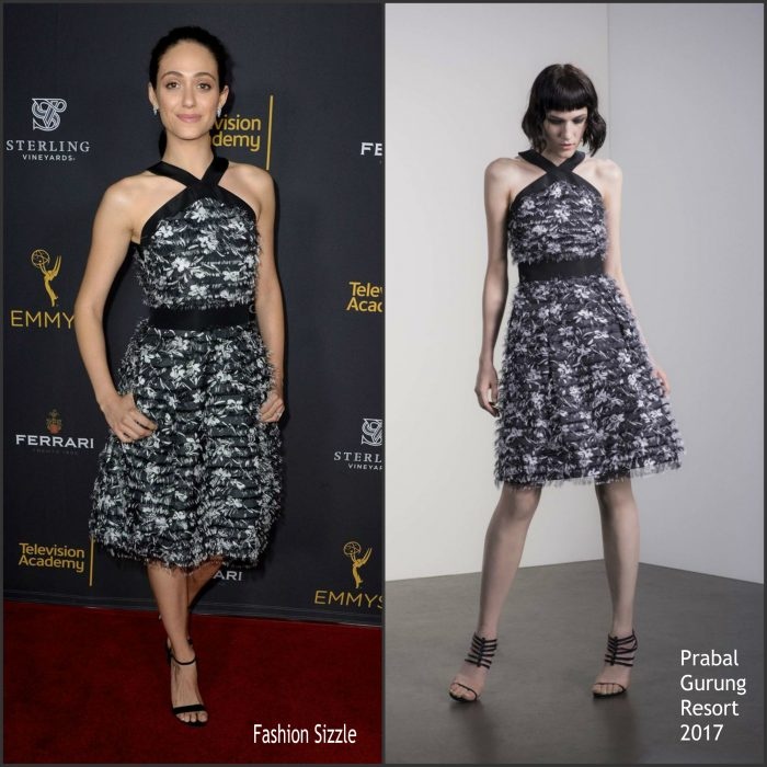 Emmy Rossum was in attendance at the Television Academy Reception Honoring The 68th Emmy Award Performer Nominees, in West Hollywood, California, on September 16, 2016.