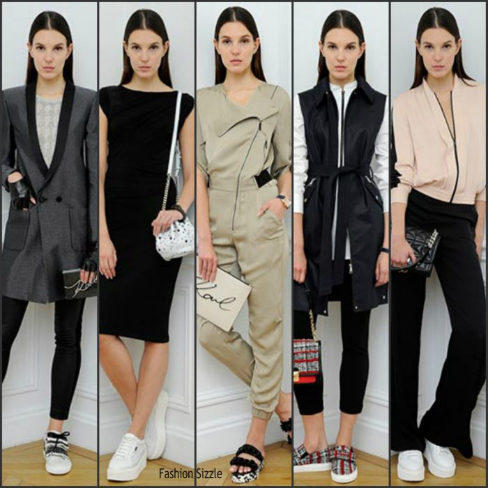 Karl Lagerfeld Spring/Summer 2017 Collection  At Paris Fashion Week