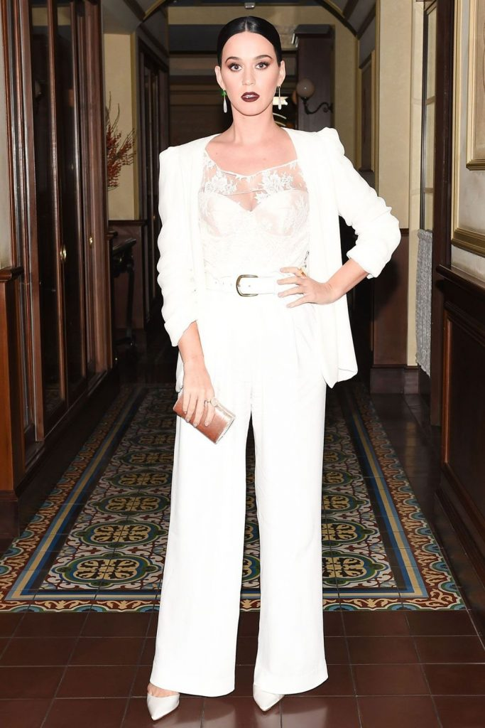 Katy- Perry - in - Ryan- Roche-at- CFDA-Vogue -Fashion- Fund- dinner
