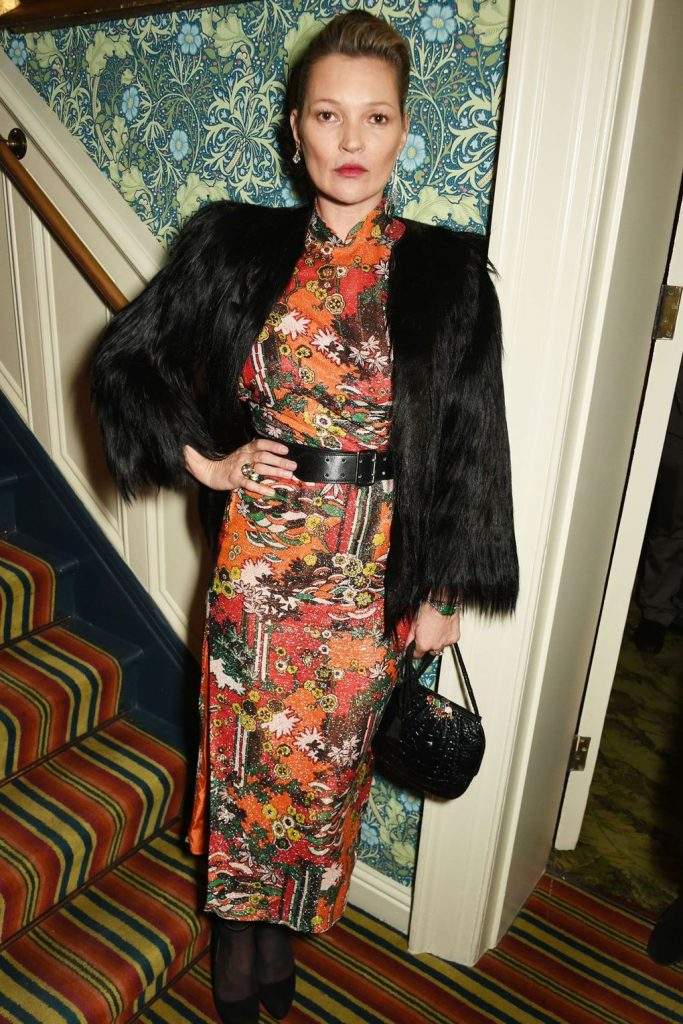 Kate -Moss -at -Edward- Enninful -OBE- party- London