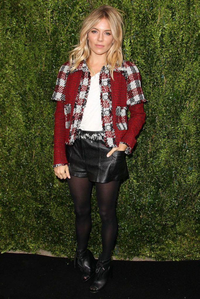 Sienna- Miller- in -Chanel- at Tribeca Chanel Women's Filmmaker- Programme- luncheon
