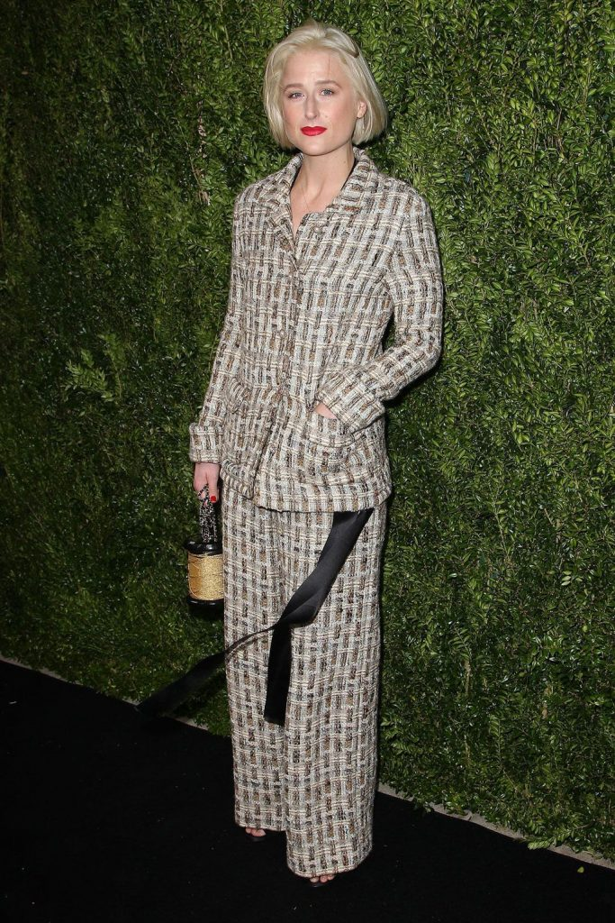 Mamie -Gummer- in -Chanel -at-Tribeca- Chanel -Womens-Filmmaker- Programme- luncheon-New -York