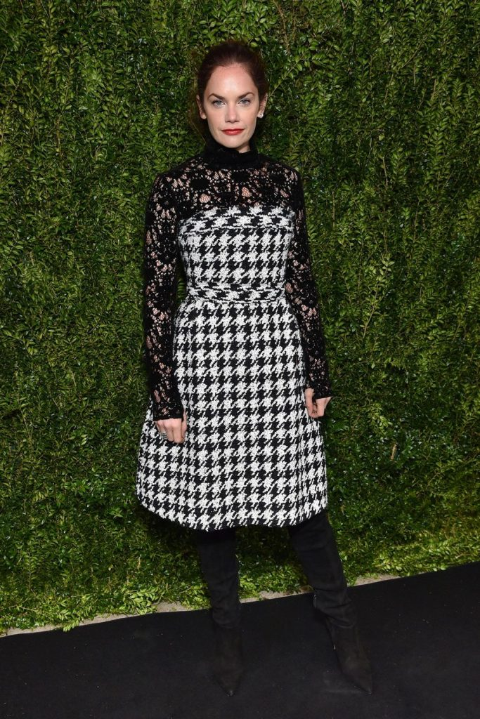 Ruth- Wilson- in -Chanel- at Tribeca Chanel Women's Filmmaker- Programme- luncheon