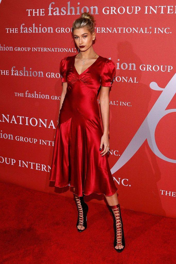 Hailey -Baldwin - at -Night- of -Stars- gala- New- York