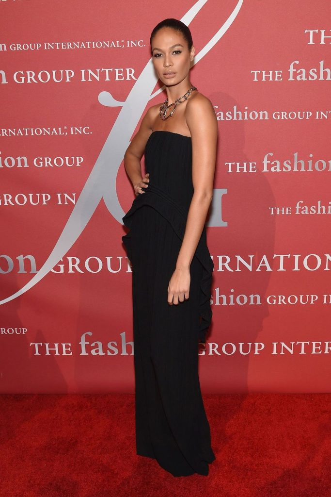 Joan -Smalls -at Night- of -Stars- gala- New -York