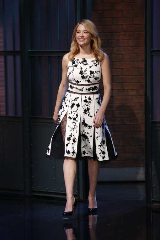 haley-bennett-michael-kors-at-the-late-night-with-seth-meyers