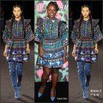Lupita Nyong'o  Kenzo X H&M At Kenzo X H&M Fashion Show