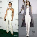 Alessandra Ambrosio  In David Koma  At 2016 ELLE Women in Hollywood Awards
