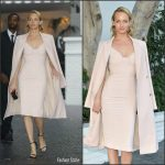 Amber Valletta In Brock Collection At CFDA/Vogue Fashion Fund Event