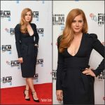 Amy Adams In   Alexander McQueen At  The  'Arrival ' 2016 BFI London Film Festival Photocall