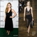 Amy Adams  In Lanvin  At 2016 ELLE Women in Hollywood Awards