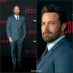 "Ben Affleck In  Dolce & Gabbana At ""The Accountant"" LA Premiere"