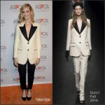 Beth Behrs  In Gucci  AT The Aspca Los Angeles Benefit
