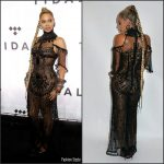 Beyonce In Gattinoni  Couture The TIDAL X: 1015 Charity Concert