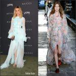 Brie Larson In  Gucci  At The 2016 LACMA ART + FILM GALA