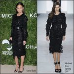 Chrissy Teigen In Michael Kors  At The  2016 Golden Heart Awards