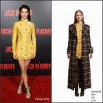 Cobie Smulders  In Alessandra Rich  At Jack Reacher New Orleans Fan Screening