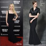 Dakota Fanning  In  Dolce and Gabbana  At American Pastoral MoMA Screening
