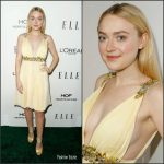 Dakota Fanning In Miu Miu At 2016 ELLE Women in Hollywood Awards
