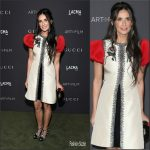 Demi Moore   In Gucci At The 2016 LACMA ART + FILM GALA