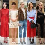 Diane Kruger, Jessica Alba, Dakota Fanning, Lily Colins & More During Paris Fashion Week Spring 2017