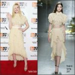Elle Fanning In  Rodarte At The  54th New York Film Festival