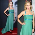 Emily Blunt  In Prada At   The Girl On The Train New York Premiere