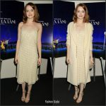 "Emma Stone  In The Row  At ""La La Land"" New York screening"
