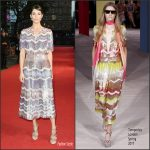 Gemma Arterton  In Temperley London At Their Finest  London Premiere