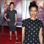 Gugu Mbatha-Raw  In  Victoria Beckham At The 'Loving ' New York  Premiere