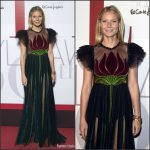 Gwyneth Paltrow  In Gucci   At ELLE Magazine 30th Anniversary Party