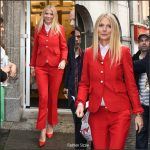 Gwyneth Paltrow  In Gucci  At The  China Exchange in London