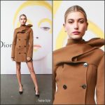 Hailey Baldwin  In Christian Dior At Dior Beauty Celebrates The Art of Color in New York