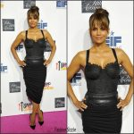 Halle Berry  In  Maria Lucia Hohan  At  Saks Fifth Avenue Celebrates Key To The Cure
