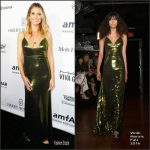 Heidi Klum  In  Wolk Morais  At The 2016  amfAR's Inspiration Gala