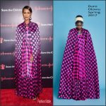 Iman in Duro Olowu at the 4th Save The Children Illumination Gala