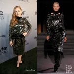 Isla Fisher  In Tom Ford At 2016 InStyle Awards