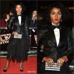 Janelle Monáe  In Yanina Couture  At The  Moonlight  LA Premiere