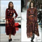 Jenna Coleman  In Preen by Thornton Bregazzi At Victoria Photocall In Cannes