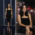 Jennifer Connelly  In The Row At Jimmy Kimmel Live